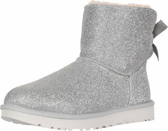 UGG Women's W Mini Bailey Bow Sparkle Fashion Boot