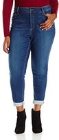 NYDJ Women's Plus-Size Anabelle Skinny Boyfriend Jeans In Echo Valley Wash