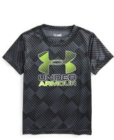 Under Armour Toddler Boy's Tilt Shift Graphic Heatgear Shirt