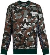 À La Garçonne camouflage sweatshirt