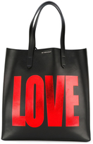 Givenchy Metallic Love Leather Tote