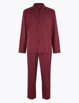 Marks and Spencer Cotton Pyjama Set