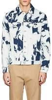 Loewe Men's Bleached Cotton Denim Trucker Jacket