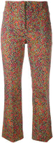 Philosophy Di Lorenzo Serafini - floral print cropped trousers - women - Cotton/other fibers - 42