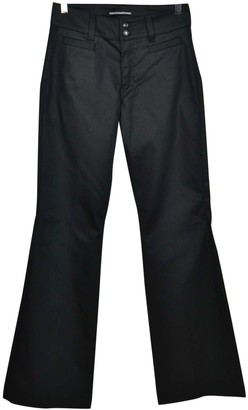 Drykorn Black Cotton Trousers for Women
