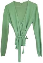 Fendi Green Cashmere Top
