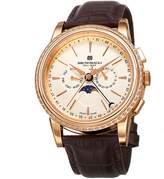 Bruno Magli Men's Ottanta Limited Edition Swiss Quartz Multi-Function Watch with Italian Bordeaux Leather Strap