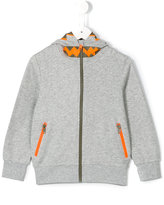 Stella McCartney zipped hoodie - kids - Cotton/Polyester - 4 yrs