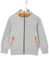 Stella McCartney zipped hoodie - kids - Cotton/Polyester - 8 yrs