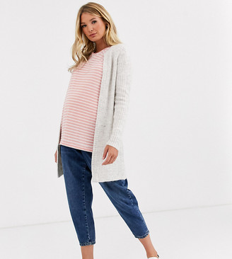 Mama Licious Mamalicious longline belted cardigan