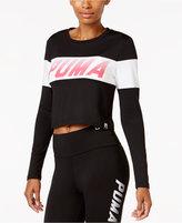 Puma Speed Logo Crop Top