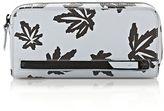 Alexander Wang Fumo Continental Wallet In Leaf Printed Pale Blue