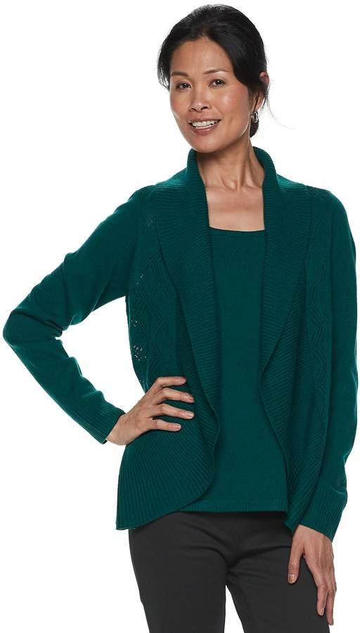 Women`s Layered Look Sweater
