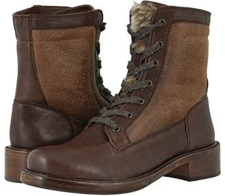 Trask Brett (Black Italian Washed Sheepskin) Women's Boots