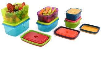 Fit & Fresh Kids 14 Piece Leak-Proof Lunch Container Set