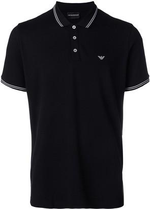 Emporio Armani classic short sleeved polo shirt