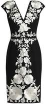 Catherine Deane Hamo Embroidered Jersey Dress