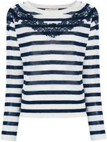 Vanessa Bruno striped lace sweater