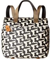 Orla Kiely Matt Laminated Baby Bunny Print Small Backpack