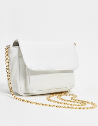 Urban Code Urbancode leather cross body bag in white