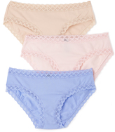 Natori Bliss Girl Brief 3 Packs