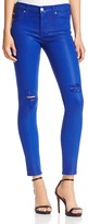 Hudson Nico Mid Rise Super Skinny Jeans in Blue My Mind