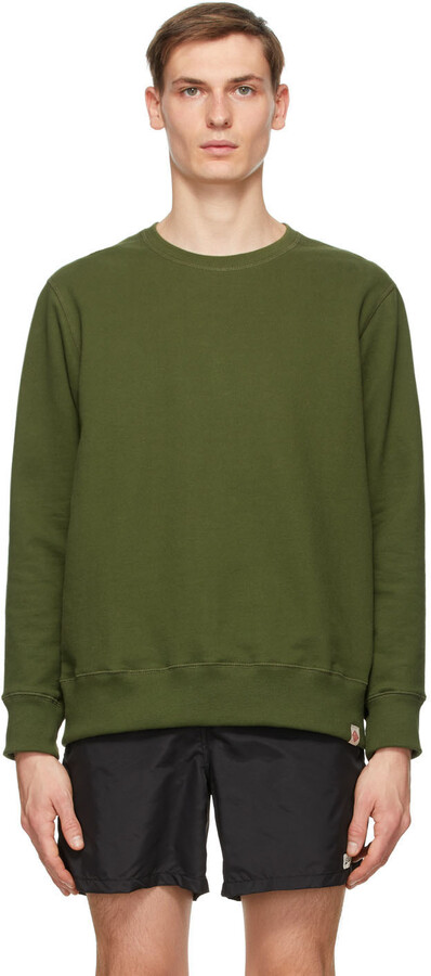 Thumbnail for your product : Bather Green Crewneck Sweatshirt