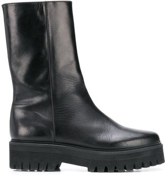 Dorothee Schumacher Chunky Sole Mid-Calf Boots