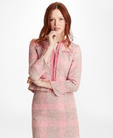 Brooks Brothers Checked Boucle Jacket