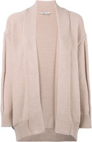 Agnona open cardigan - women - Cotton/Polyamide - S