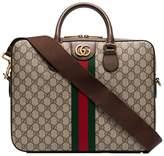 Gucci GG Supreme monogram briefcase