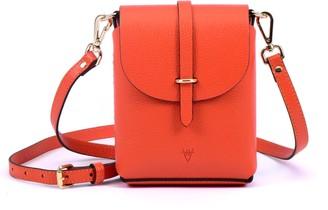 Hiva Atelier Astrum Leather Bag Orange
