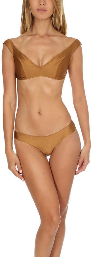 Zimmermann Tulsi Off Shoulder Bikini