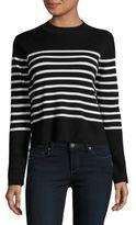 Vero Moda Striped Mockneck Sweater