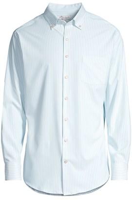 Peter Millar Natural Touch Long-Sleeve Button-Front Shirt