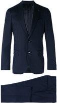 Lardini notched lapel suit - men - Cupro/Viscose/Wool - 46