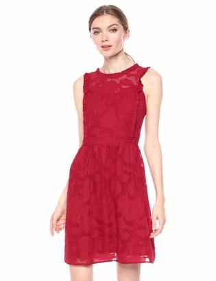 Kensie Women's Delicate Burnout Dress