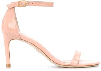 Stuart Weitzman open-toe 85mm buckled sandals