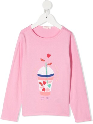 Billieblush Kiss Juice long sleeved T-shirt
