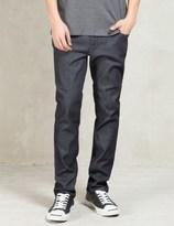 Nudie Jeans Dark Grey Thin Finn Jeans
