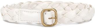 Philosophy di Lorenzo Serafini Woven Strap Leather Belt