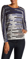 Nic+Zoe Broken Stripes Top