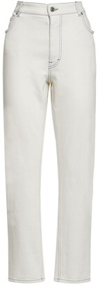 Stella McCartney Cotton Stretch Jeans W/ Embroidery