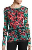 Fuzzi Vintage Floral Top