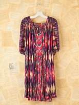 Missoni Vintage Ikat Dress with Cape
