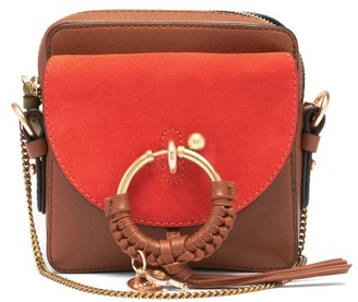 See by Chloe Joan Mini Leather And Suede Cross-body Bag - Tan Multi