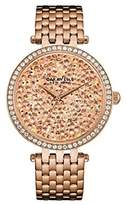Bulova Women's Quartz Stainless Steel Casual Watch, Color:Rose Gold-Toned (Model: 44L222)