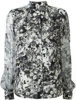 Lanvin floral print shirt