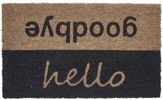 Seventh Studio Hello/Goodbye Coir Door Mat Bedding