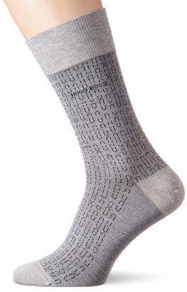 HUGO BOSS Men's Rs Minipattern Mc Calf Socks